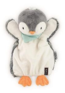 Doudou Marionnette Pepit' le Pingouin