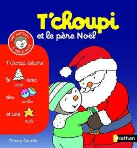 Livre Tchoupi et le Père Noël