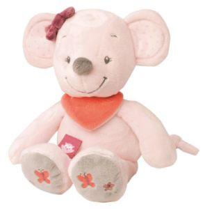 Peluche Souris Valentine - 28 cm