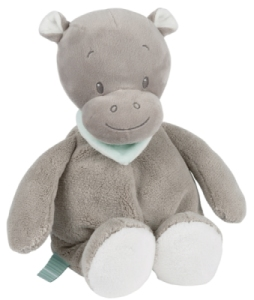 Peluche Hippopotame Hippolyte - 28 cm