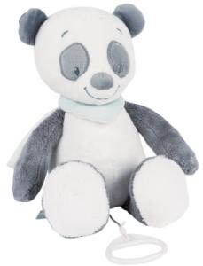 Peluche Musicale Panda Loulou - 28 cm