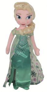 Peluche Elsa La Reine des Neiges : Une fête givrée - 25 cm
