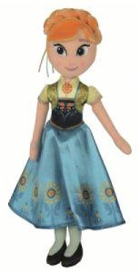 Peluche Anna La Reine des neiges : Une fête givrée - 25 cm