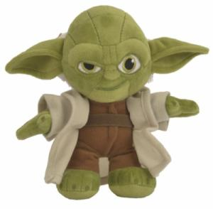 Peluche Yoda Star Wars - 17 cm