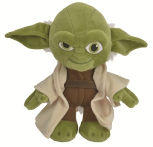 Peluche Yoda Star Wars - 25 cm