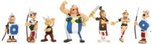 Tube 7 Figurines Astérix Bagarre