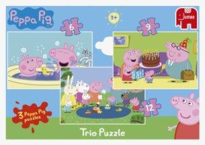 Trio Puzzles Peppa Pig