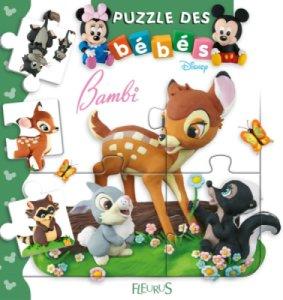 Livre Puzzle Bambi - Imagerie des Bébés