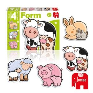 Puzzle Form Baby Vache