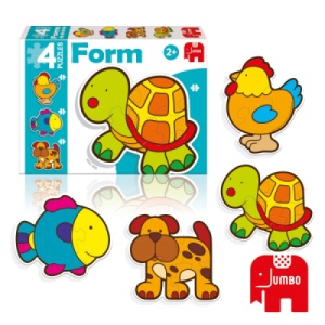Puzzle Form Baby Tortue