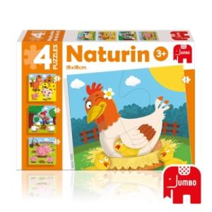 4 Puzzles Naturin