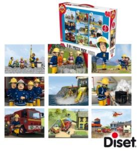Puzzle 9 en 1 Pompier Sam