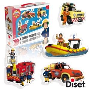 Puzzle à Forme Pompier Sam