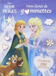 Livre Gommettes La Reine des Neiges