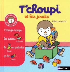 Livre Tchoupi et les Jouets