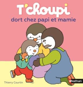Livre Tchoupi dort chez Papi et Mamie