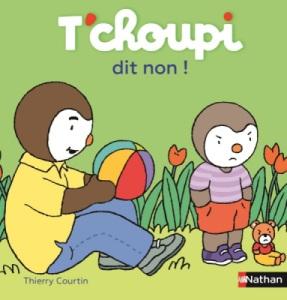 Livre Tchoupi dit Non