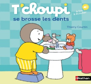 Livre Tchoupi se brosse les dents