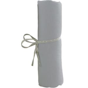 Drap Housse Gris - 60x120 cm