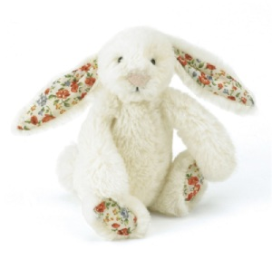 Peluche Baby Lapin Blossom - 13 cm