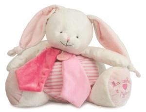 Range Pyjama Lapin Rose Les Tendres - 40 cm
