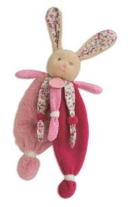 Doudou Lapin Poupi - 29 cm
