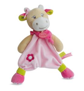 Doudou Vache Coquillette - 30 cm
