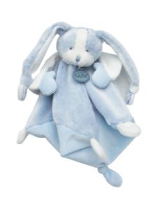 Doudou Lapin Les Toudoux Bleu