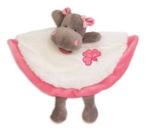 Doudou Hippopotame Zoé - 27 cm
