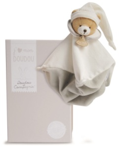 Doudou Ours Taupe - 25 cm