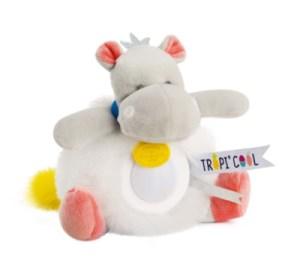 Peluche Veilleuse Hippo Tropi'Cool