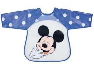 Bavoir Tablier Mickey Imprimé Bleu M Is For Mouse