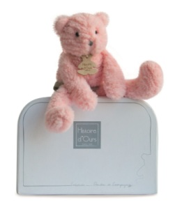 Peluche Chat Rose Sweety Couture 3624 cm