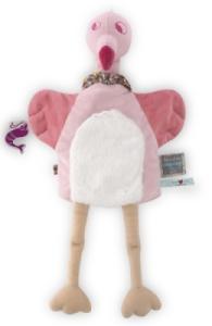 Doudou Marionnette Flamant Rose Pinky Nopnop
