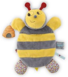 Doudou Marionnette Abeille Honey Nopnop
