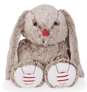 Peluche Medium Lapin Sable - Rouge