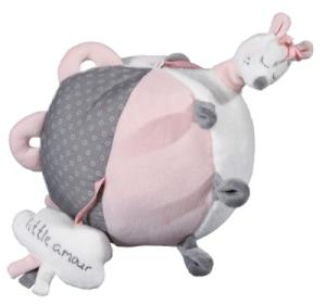 Balle Eveil Lilibelle - 18 cm. Hochet Lilibelle. Cape de Bain Lilibelle.  Doudouplanet     Sauthon     Lilibelle 50e5e3c431a