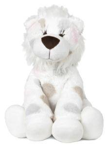 Peluche Little Lion Rose - 30 cm