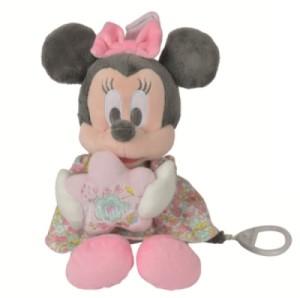 Peluche Musicale Minnie Fleurs