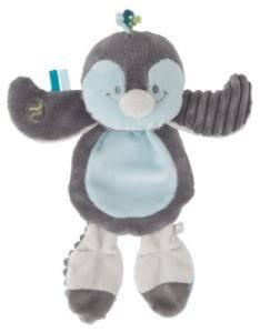 Doudou Platso Pingouin Louis - 28 cm