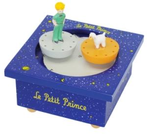 Boîte à Musique Bois Le Petit Prince