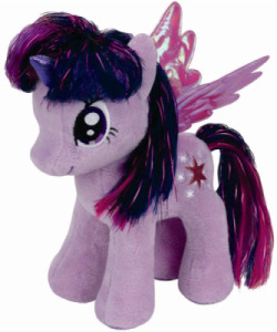 Peluche Mon Petit Poney Twilight Sparkle - 20 cm