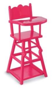 Chaise Haute pour Poupée Cerise