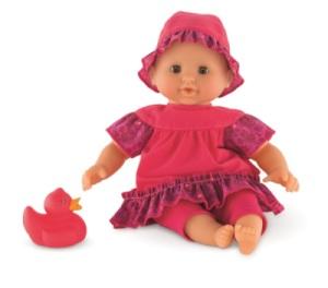 Mon Premier Bébé Bain Framboise - 30 cm