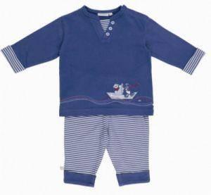 Pyjama Long 2 Pièces Bill et Bono BDM Boy 18 mois