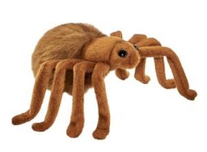 Peluche Araignée Brune - 15 cm