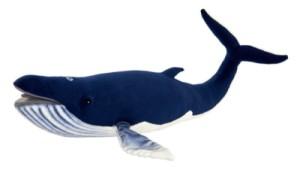 Peluche Baleine Bleue - 59 cm