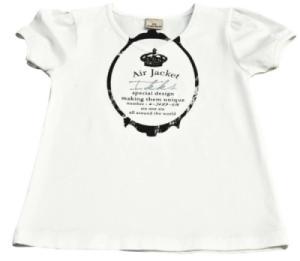 Tee-Shirt City Kid Blanc Fille - 4 ans