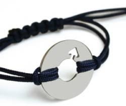 Bracelet Disco Boy Argent