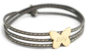 Bracelet Amazone Papillon Plaqué Or